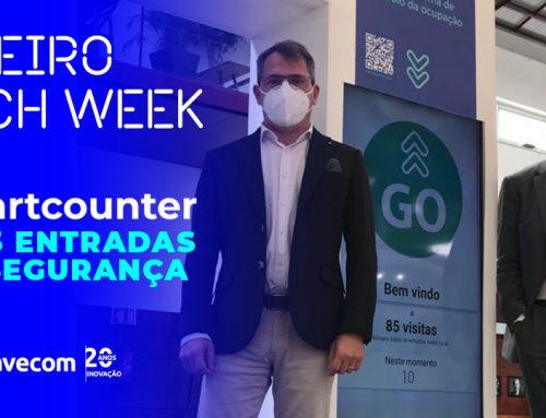 A TechWeek Aveiro contou com a presença de 3985 pessoas!