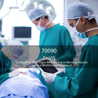 Projetos Cofinanciados Wavecom - CoVis - Contactless Vital Signs Monitoring in Nursing Homes using a Multimodal Approach