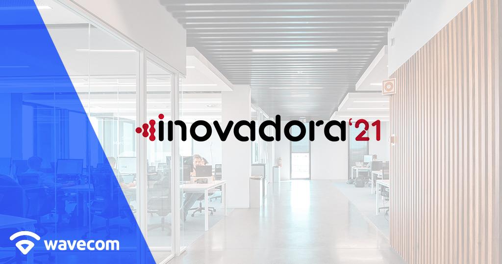 """Conquista da Wavecom como o estatuto """"Inovadora"""" COTEC 2021"""
